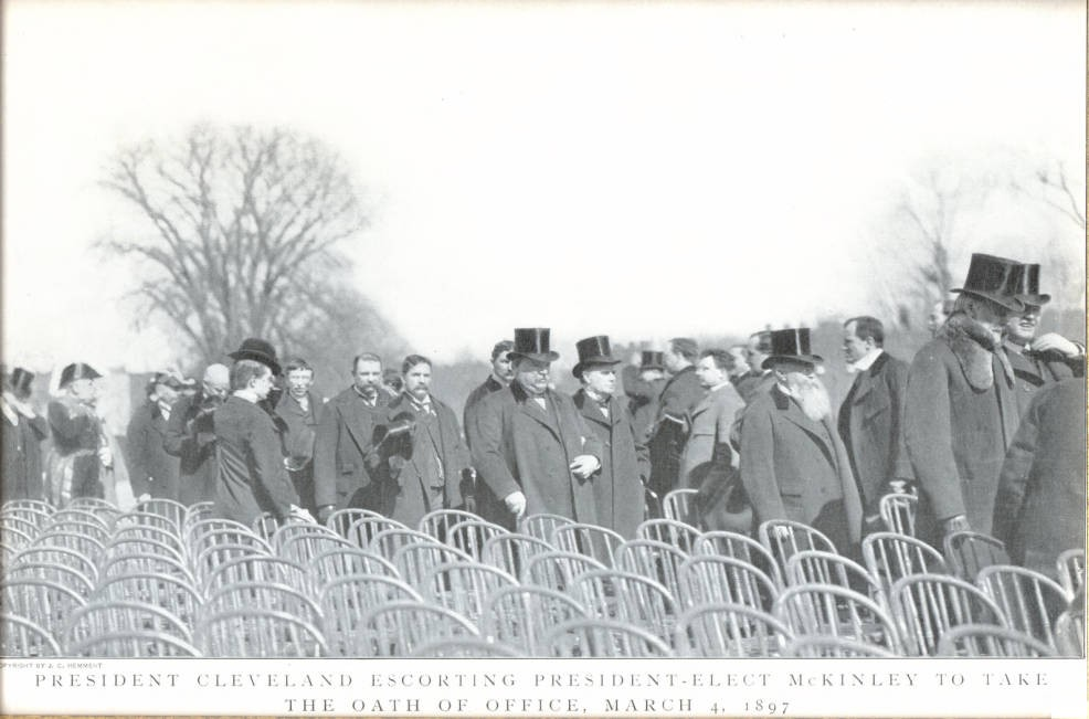 McKinley's first Presidential Inauguration, 1897, via Ohio Memory