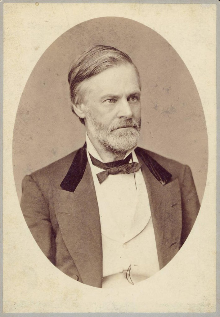 Sherman in 1879 while he was serving as Secretary of the Treasury, courtesy of the Mansfield-Richland County Public Library via Ohio Memory
