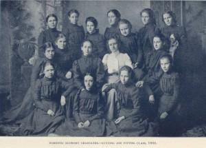 Students and residents of the Soldiers' and Sailors' Orphans' Home, 1901. Same collection as above.