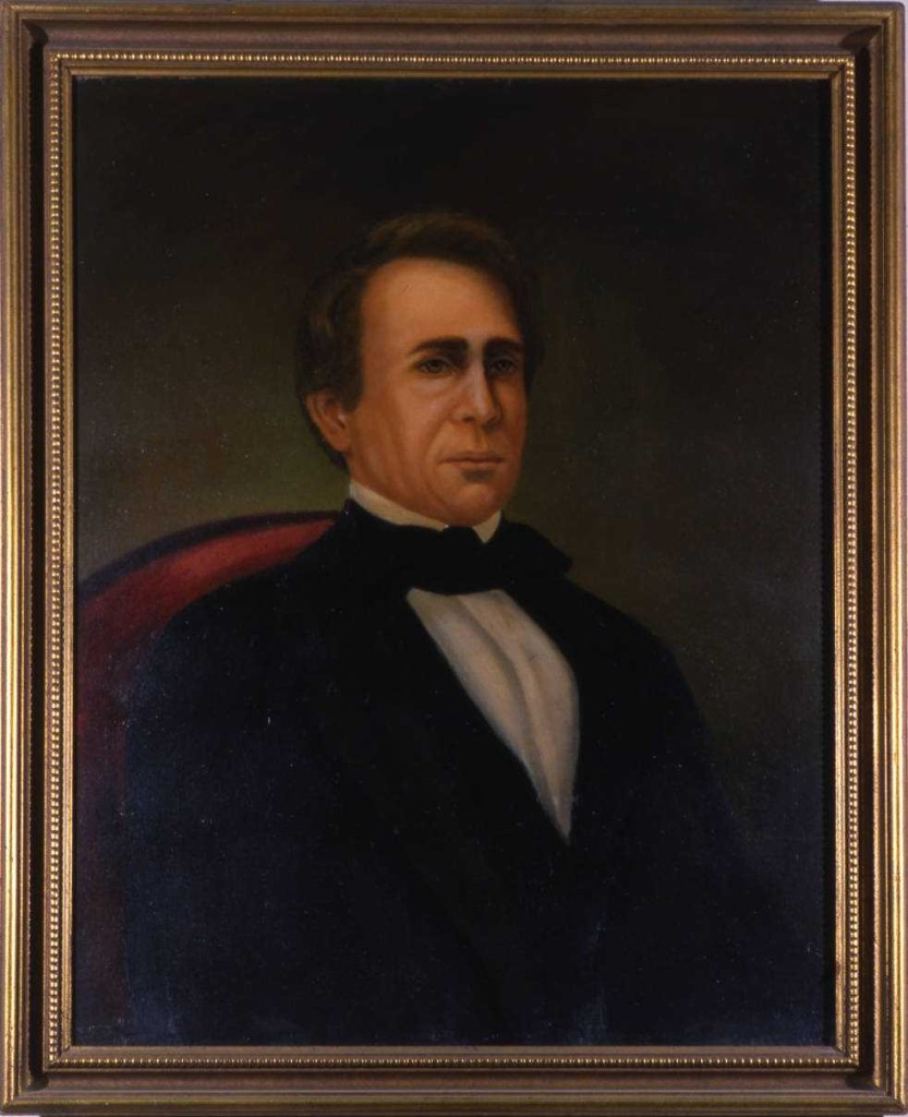 Governor Wilson Shannon, elected in the hotly-contested election of 1842. Via the Ohio Governors Collection on Ohio Memory.