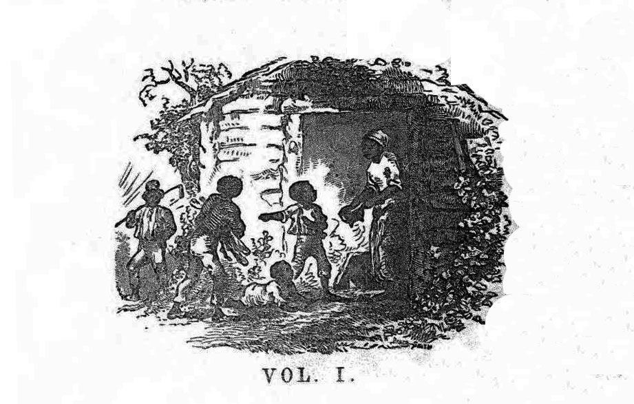Early edition of Volume I of Uncle Tom's Cabin, 1852. Via Ohio Memory.