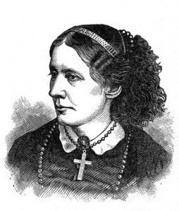 Portrait of Harriet Beecher Stowe, via Ohio Memory.