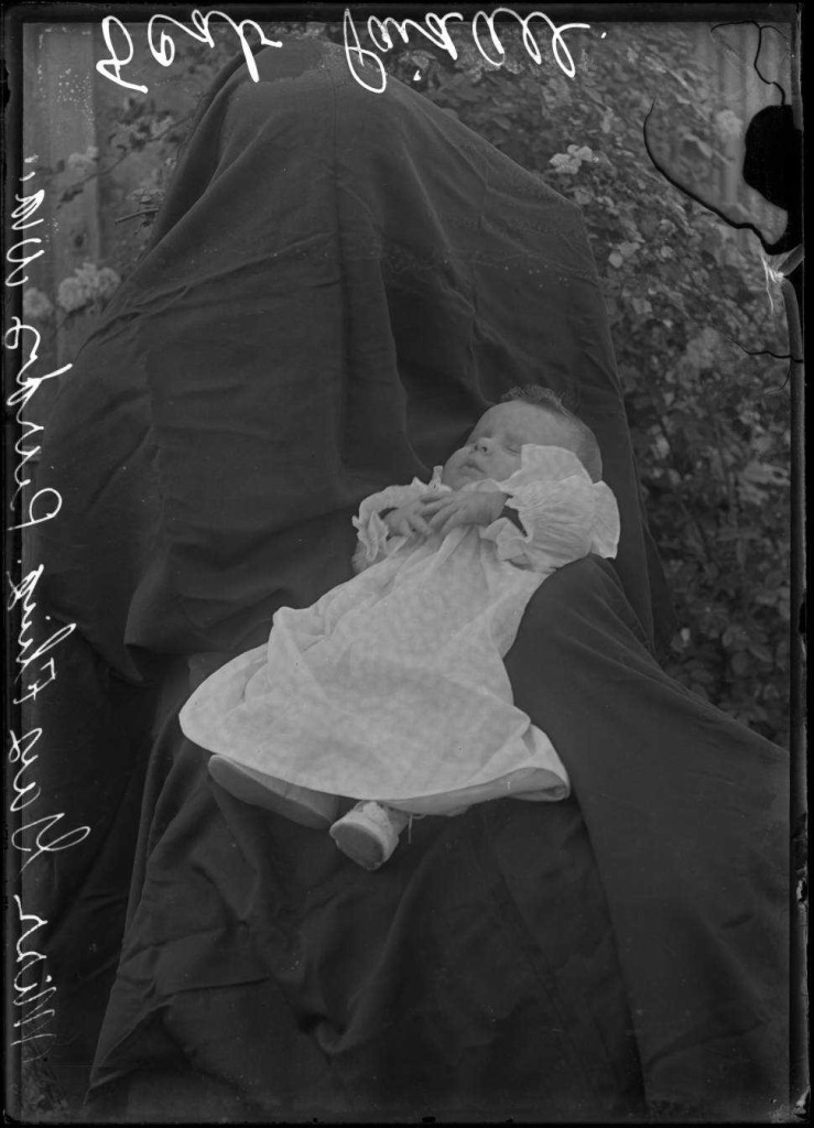 "A ""hidden mother"" from Purdy, W.V., via the Ewing Collection on Ohio Memory."