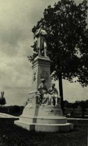 Soldiers' Monument at Greenlawn Cemetery.