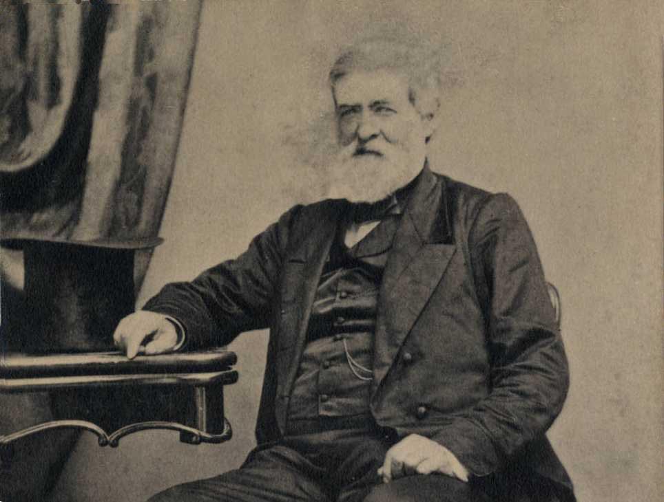 Samuel Medary ca. 1860, via Ohio Memory.
