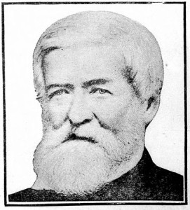 Portrait of Samuel Medary published in the New Ulm Review, September 1, 1909. Via Chronicling America.