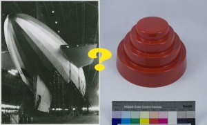 Goodyear blimp versus DEVO energy dome--who will advance?