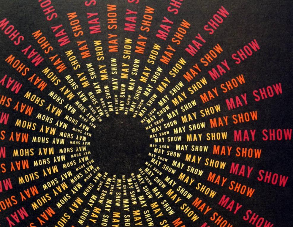 Poster for the annual May Show in 1972, courtesy of the Cleveland Museum of Art via Ohio Memory.