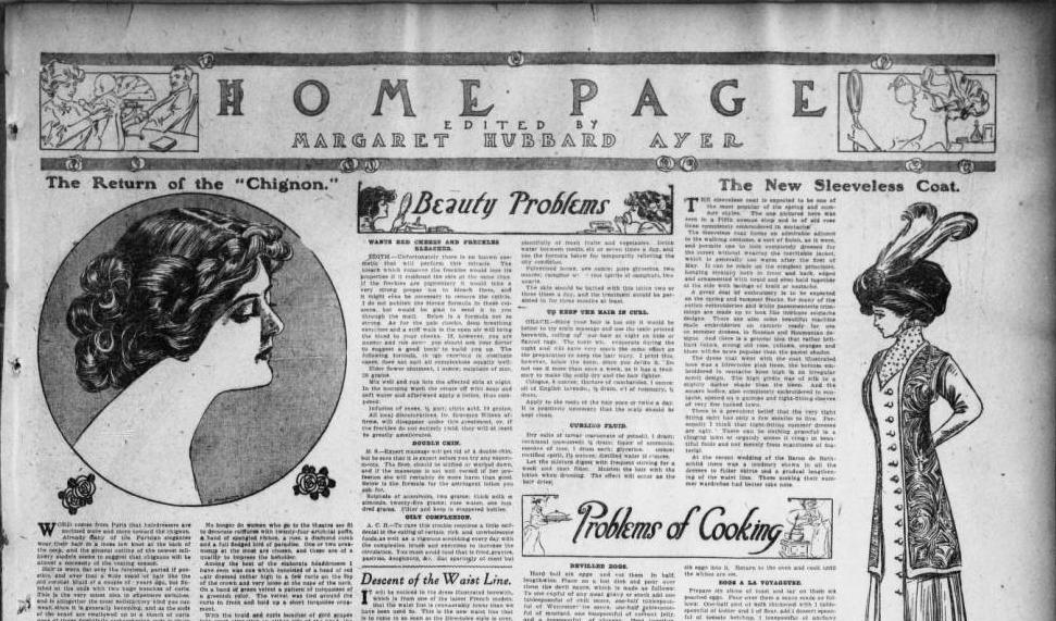 Section from the Ohio State Journal, February 21, 1909. Via Ohio Memory.