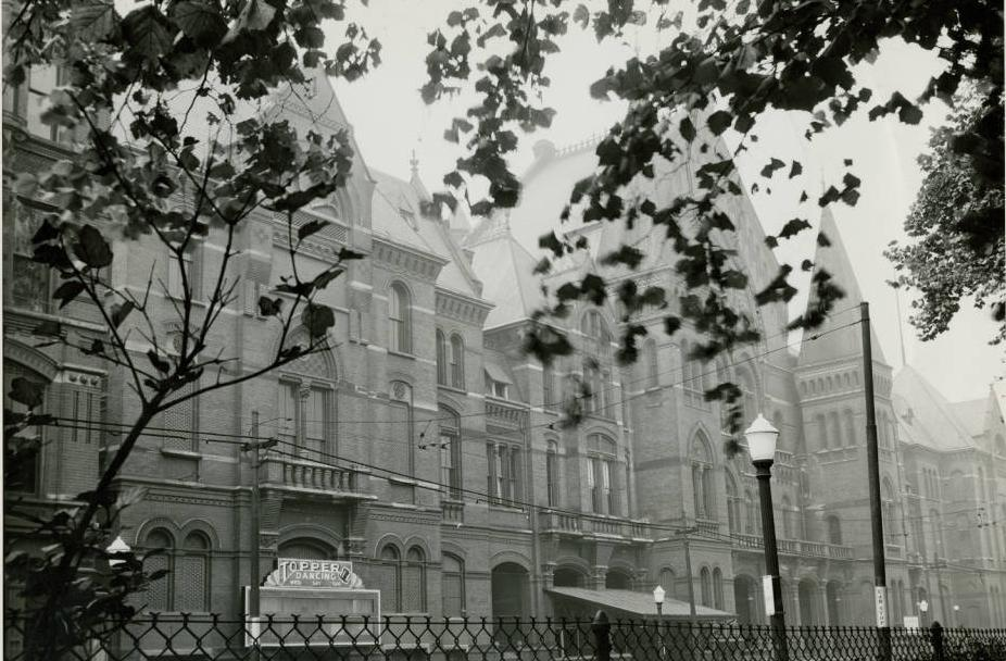 The Cincinnati Music Hall, seen in 1937, from the Ohio Guide Collection on Ohio Memory.