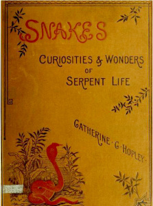 Cover of Snakes, which is available in its entirety from archive.org.