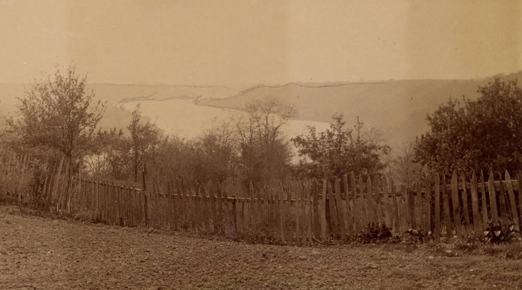 Photograph of the Ohio River from the home of abolitionist John Rankin in Ripley, Ohio. Via the Wilbur H. Siebert Collection.