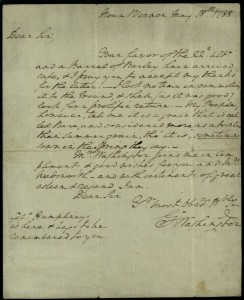 Historical letters are important to preserve, whether or not they are signed by George Washington--like this one from the State Library of Ohio on Ohio Memory.