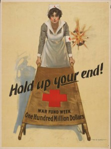 WWI Fund Drive poster, via Ohio Memory.