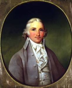 Portrait of a young Thomas Worthington, ca. 1800, via Ohio Memory.