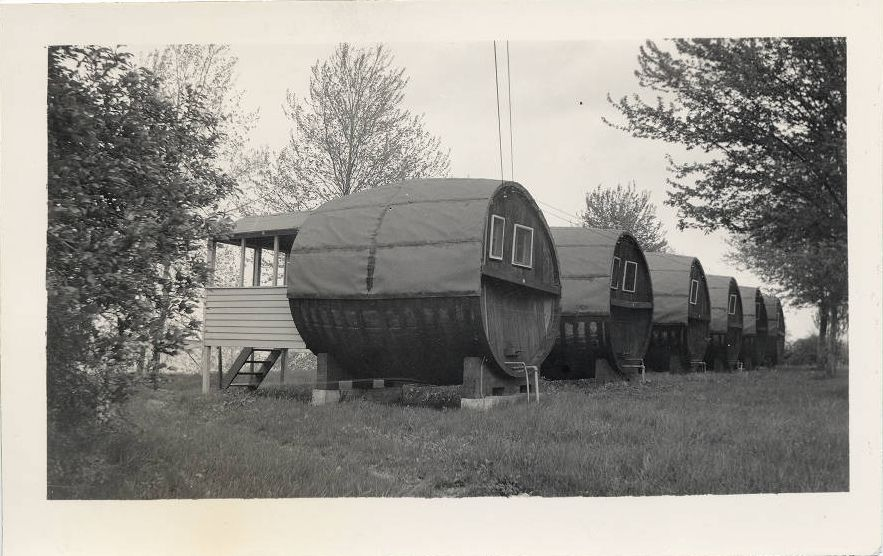 Campsites from the Ohio Guide Photograph Collection.