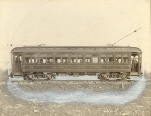 The Columbus, Delaware, & Marion Traction Company (CD&M), which began operations in 1905. Courtesy of the Marion County Historical Society via Ohio Memory.