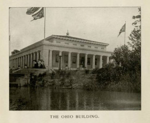 The Ohio Building, erected on the grounds of the Pan-American Exhibition. Via Ohio Memory.