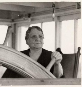 Captain Mary Greene, ca. 1940. Via the Ohio Guide Collection on Ohio Memory.