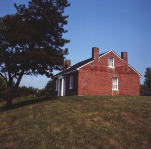 John Rankin House near Ripley, now a site of the Ohio History Connection, via Ohio Memory.