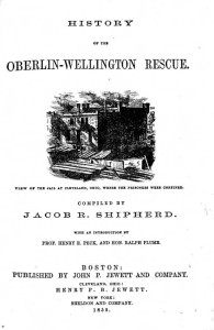 Full account of Price's rescue and legal proceedings of the case, from men who were involved firsthand. Courtesy of the Oberlin College Archives via Ohio Memory.