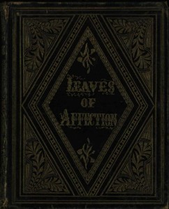 Cover of Leaves of Affection.