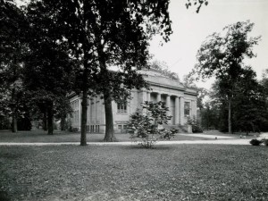 The Hayes Memorial, ca. 1940, via Ohio Memory.