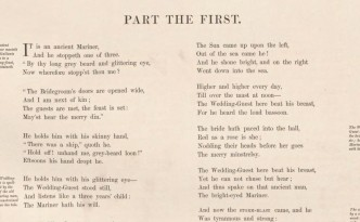 a history of the rime of the ancient mariner in 18th and 19th century What does the rime of the ancient mariner mean 17th/18th century philosophy 19th century by reconsidering briefly the history of the poem's criticism.