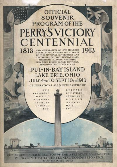 Perry's Victory Centennial program, courtesy of the Hayes Presidential Center via Ohio Memory.