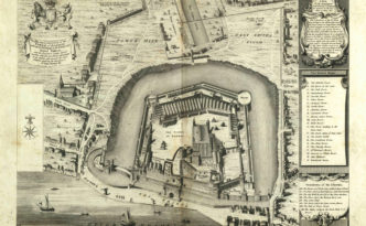 Illustration from Volume I of The History and Antiquities of the Tower of London, via the State Library of Ohio Rare Books Collection on Ohio Memory.