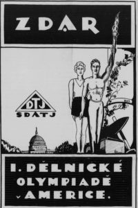 In protest of the 1926 Olympics held in Berlin, the First American Workers' Olympics was held in Cleveland.