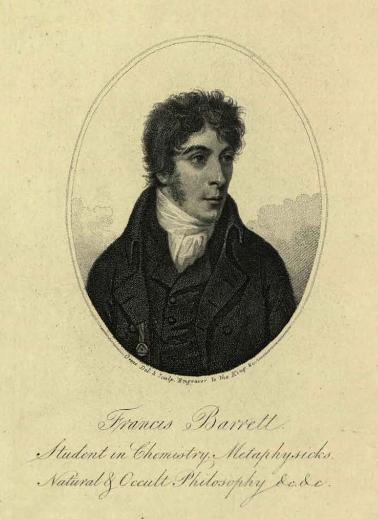 Portrait of Francis Barrett from The Magus.