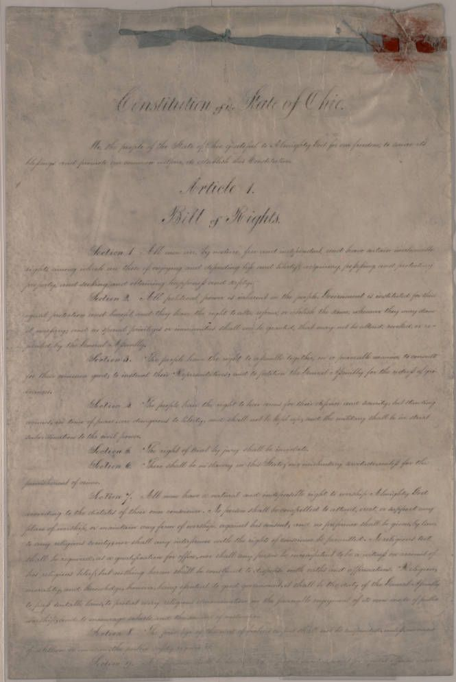 History Of Ohios Constitution Icivics - Global History Blog