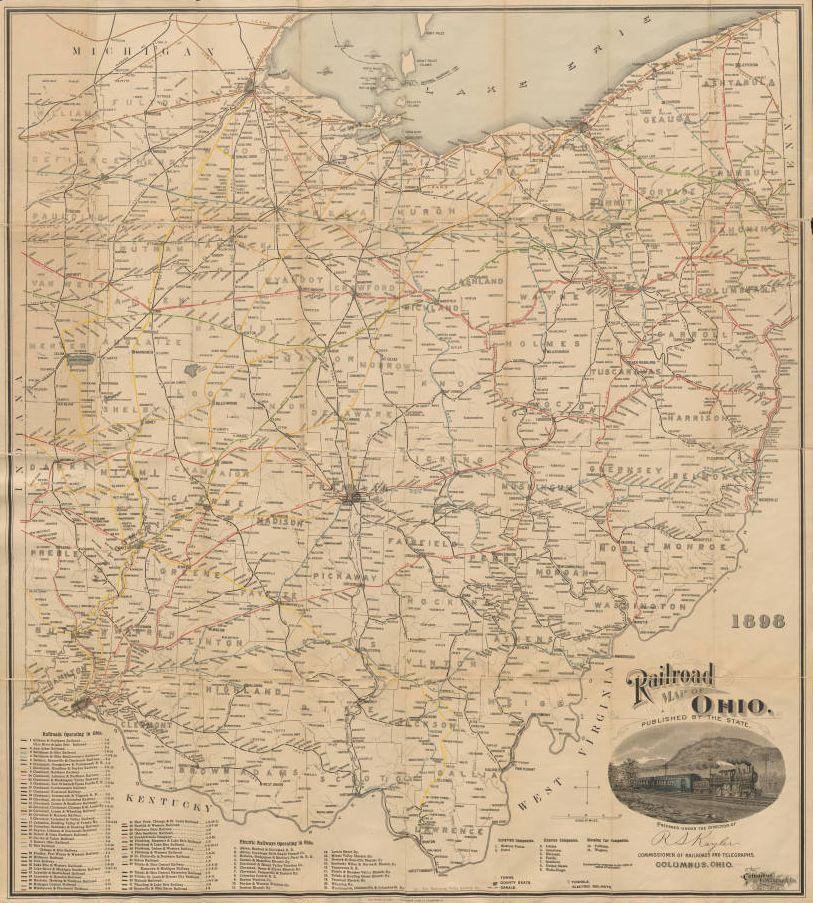 All Aboard Ohio Railroad History