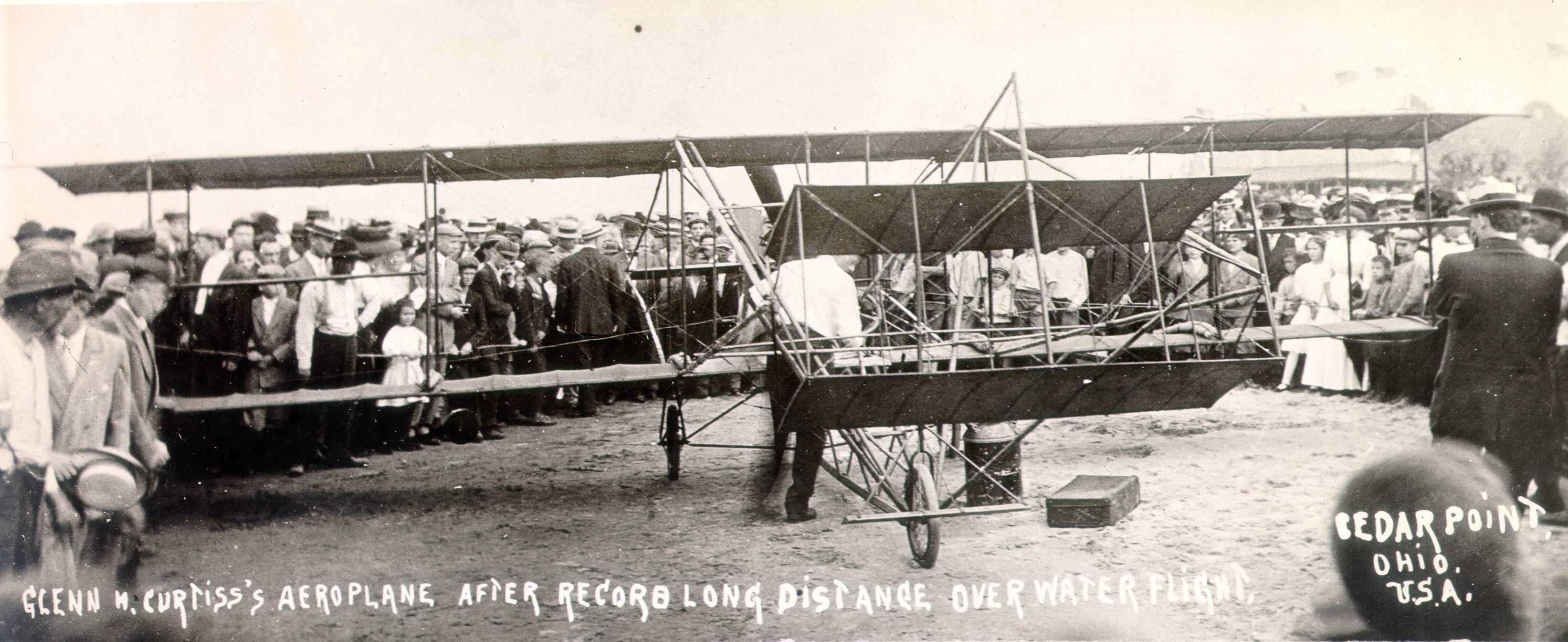 """Glenn Curtiss and his """"Conquest of the Air"""""""