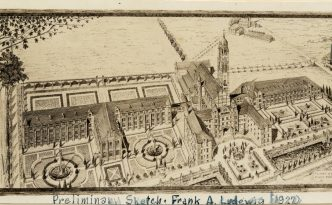 Pontifical College Josephinum campus preliminary sketch