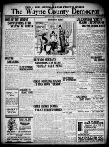 Wayne County Democrat, 1913-11-11