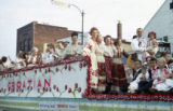 Croatian parade float photograph
